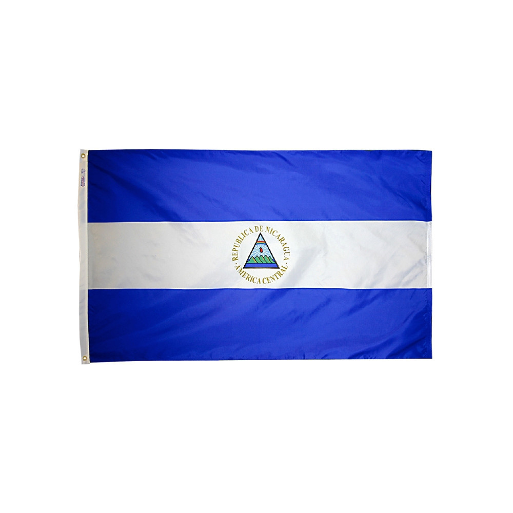 12x18 in. Nicaragua Nautical Flag