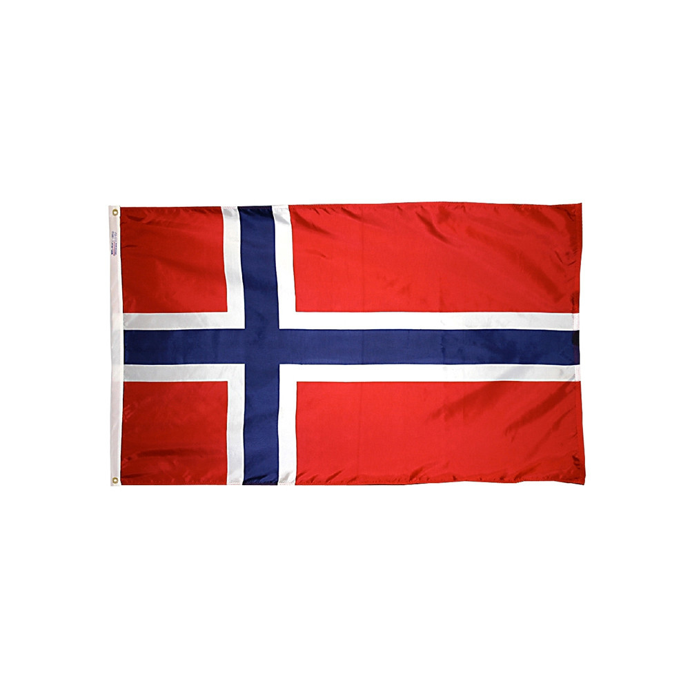 12x18 in. Norway Nautical Flag