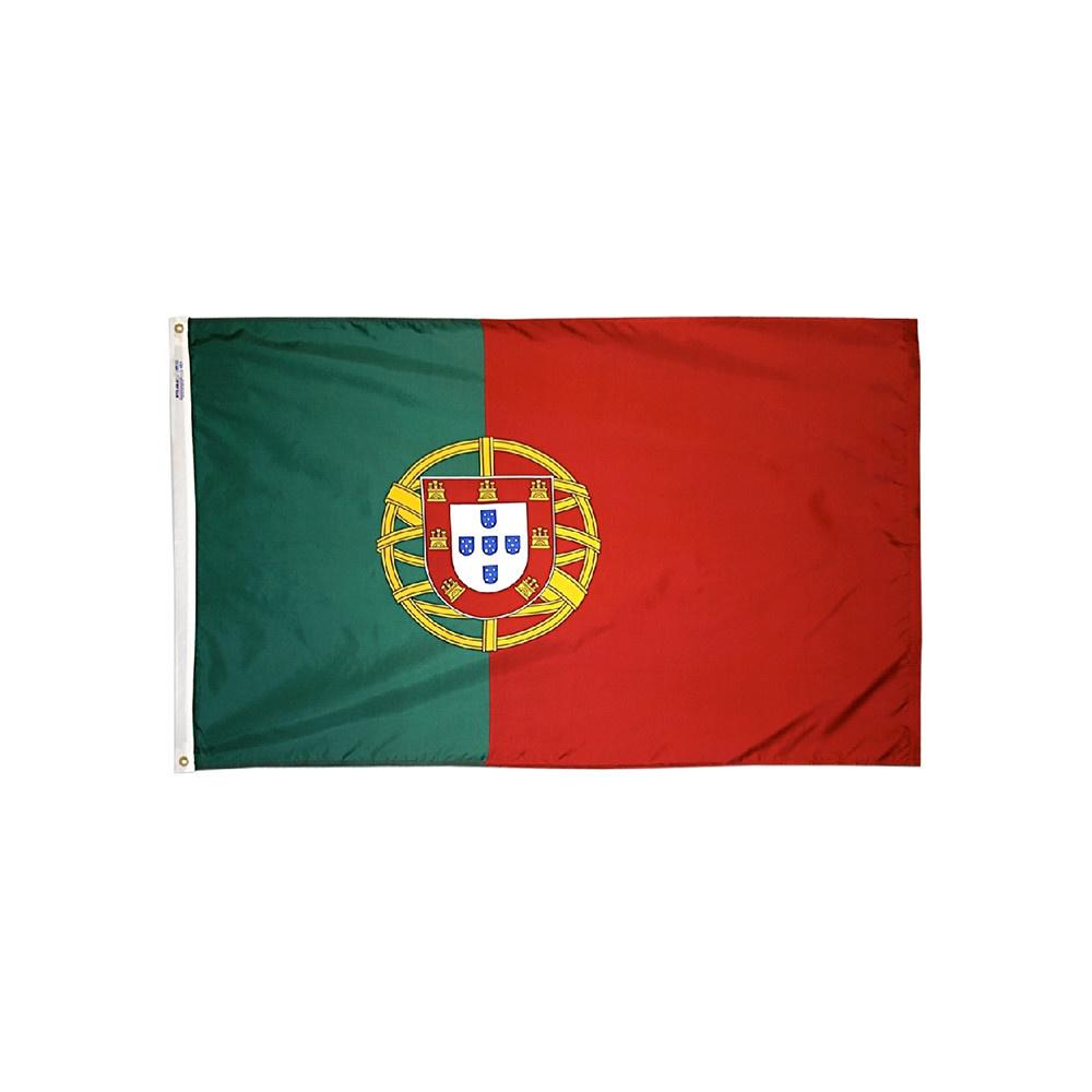12x18 in. Portugal Nautical Flag