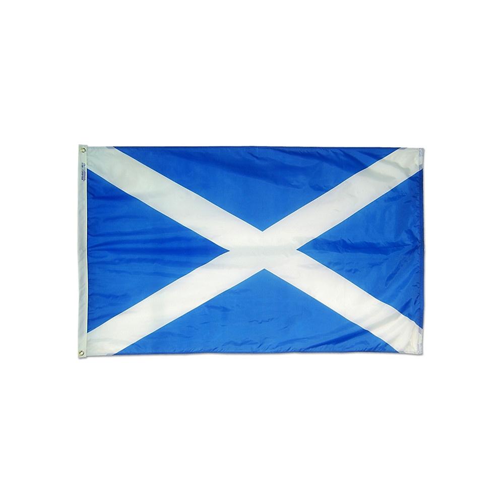 12x18 in. Saint Andrew's Cross Nautical Flag