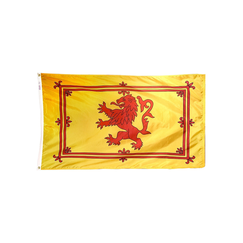 12x18 in. Scottis Rampant Lion Nautical Flag