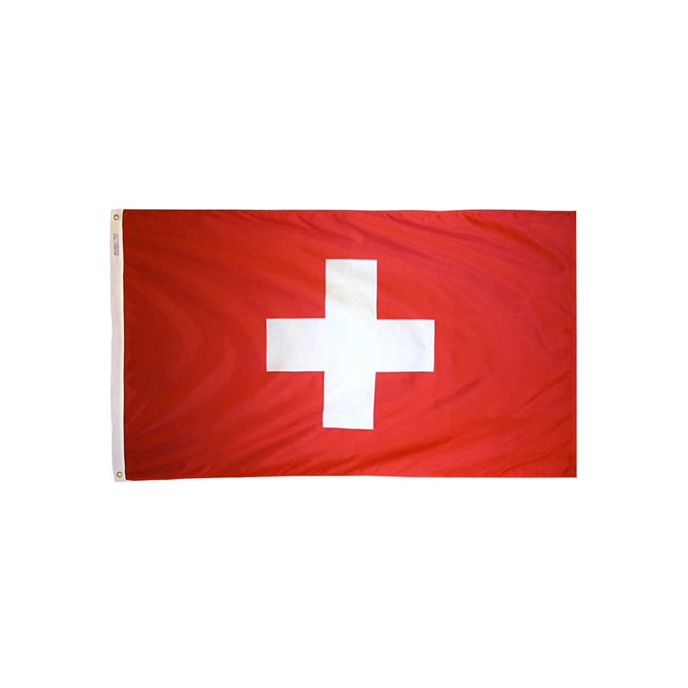 12x18 in. Switzerland Nautical Flag