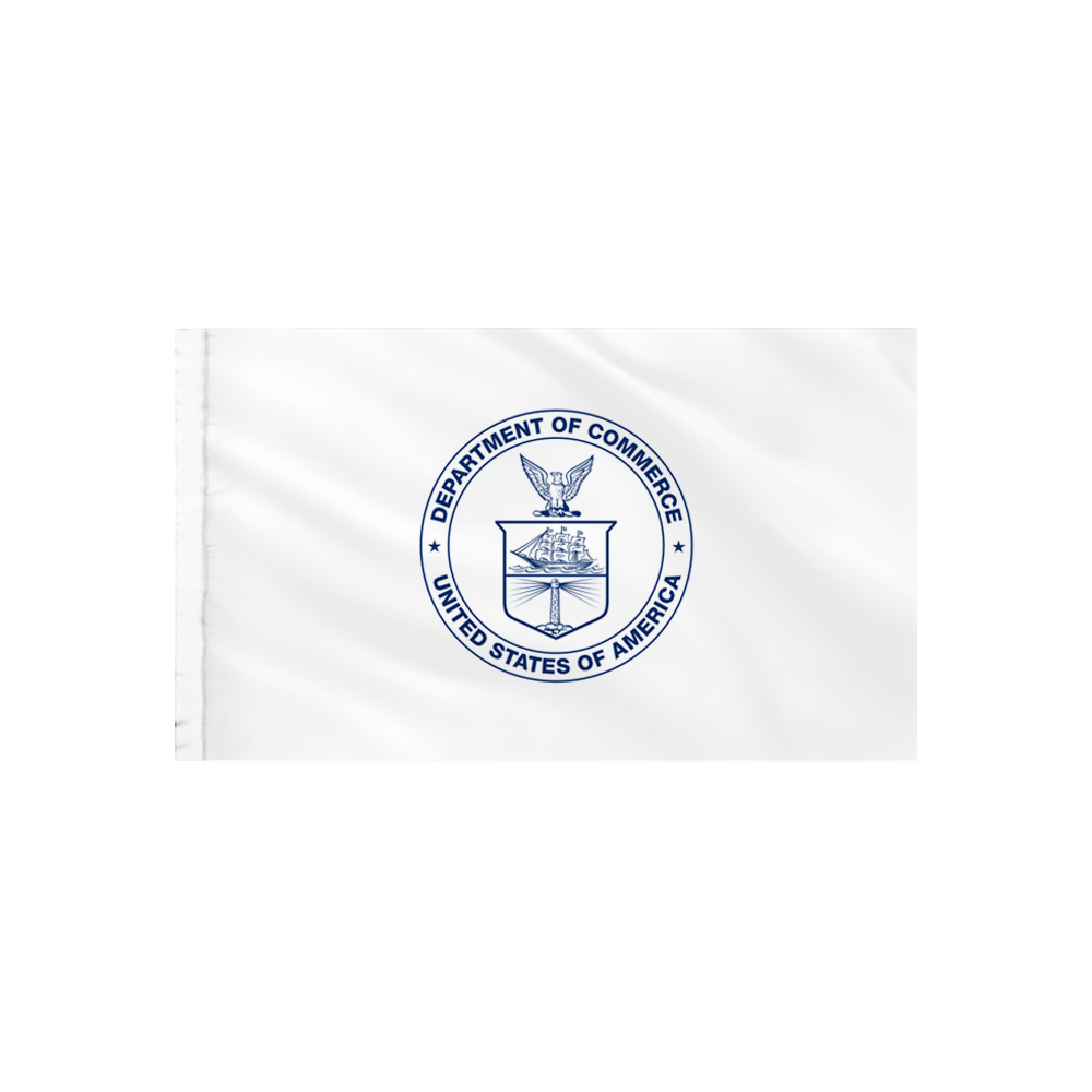 Commerce Flag - Indoor/Parade with Polesleeve