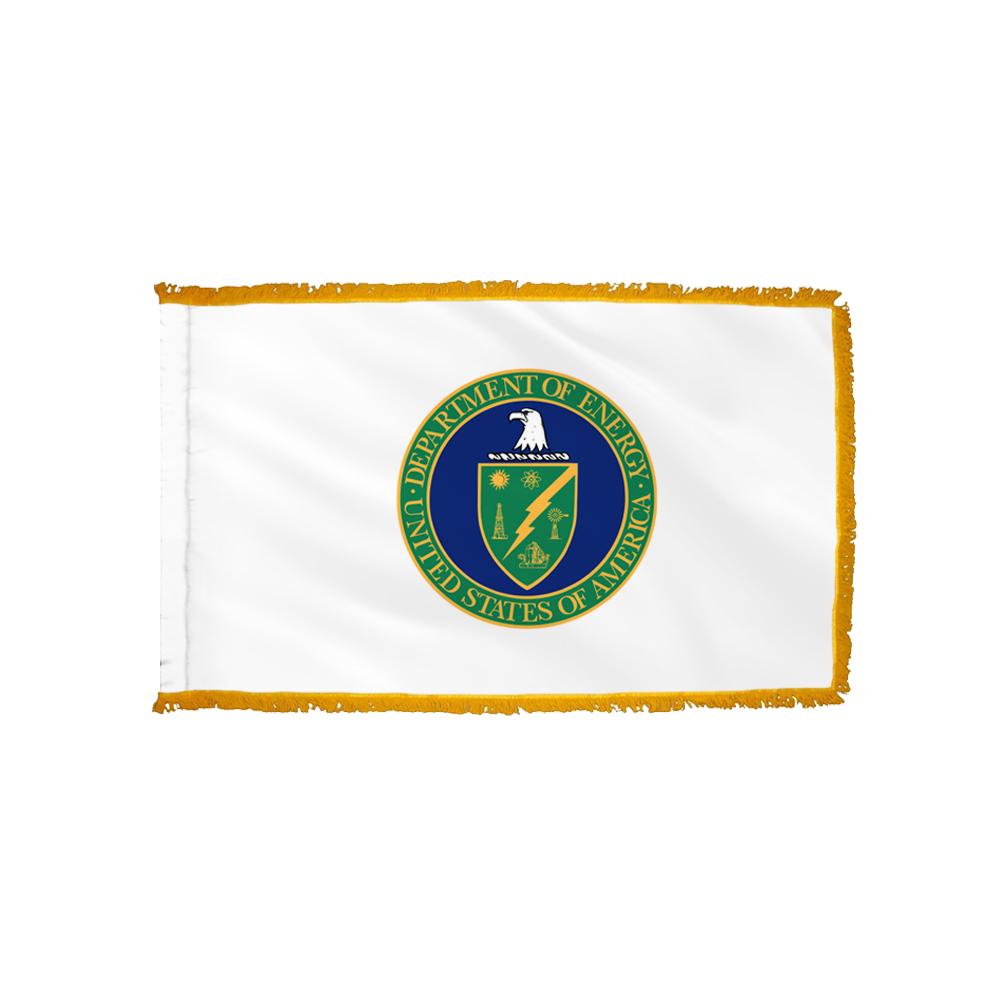 Energy Flag - Indoor/Parade with Polesleeve & Fringe