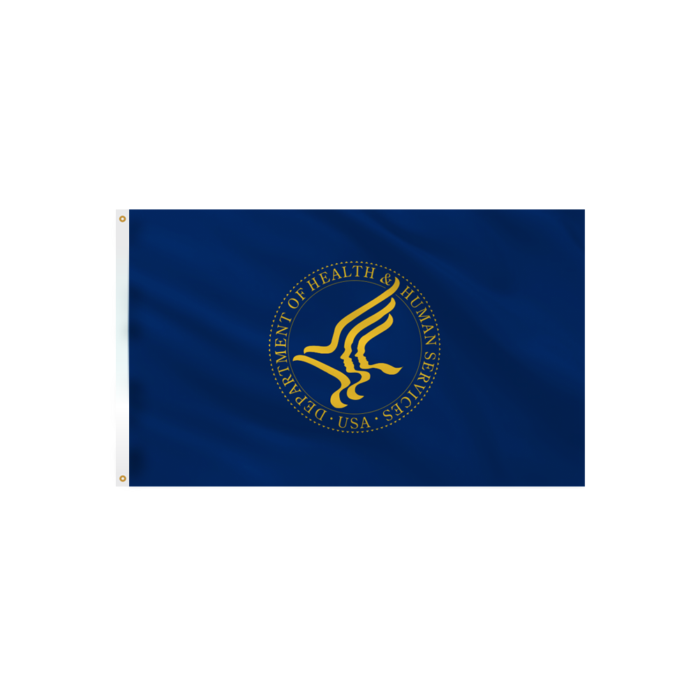 Health & Human Services Flag - Outdoor