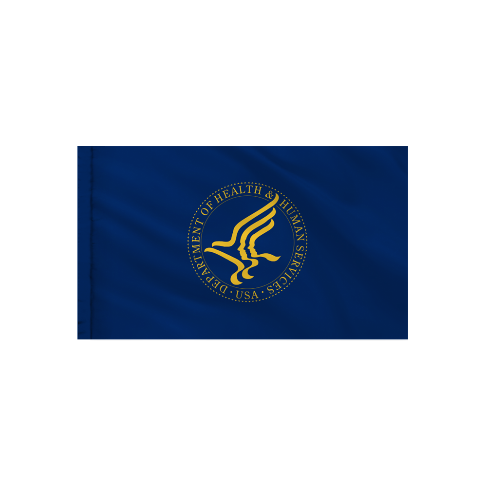 Health & Human Services Flag - Indoor/Parade with Polesleeve