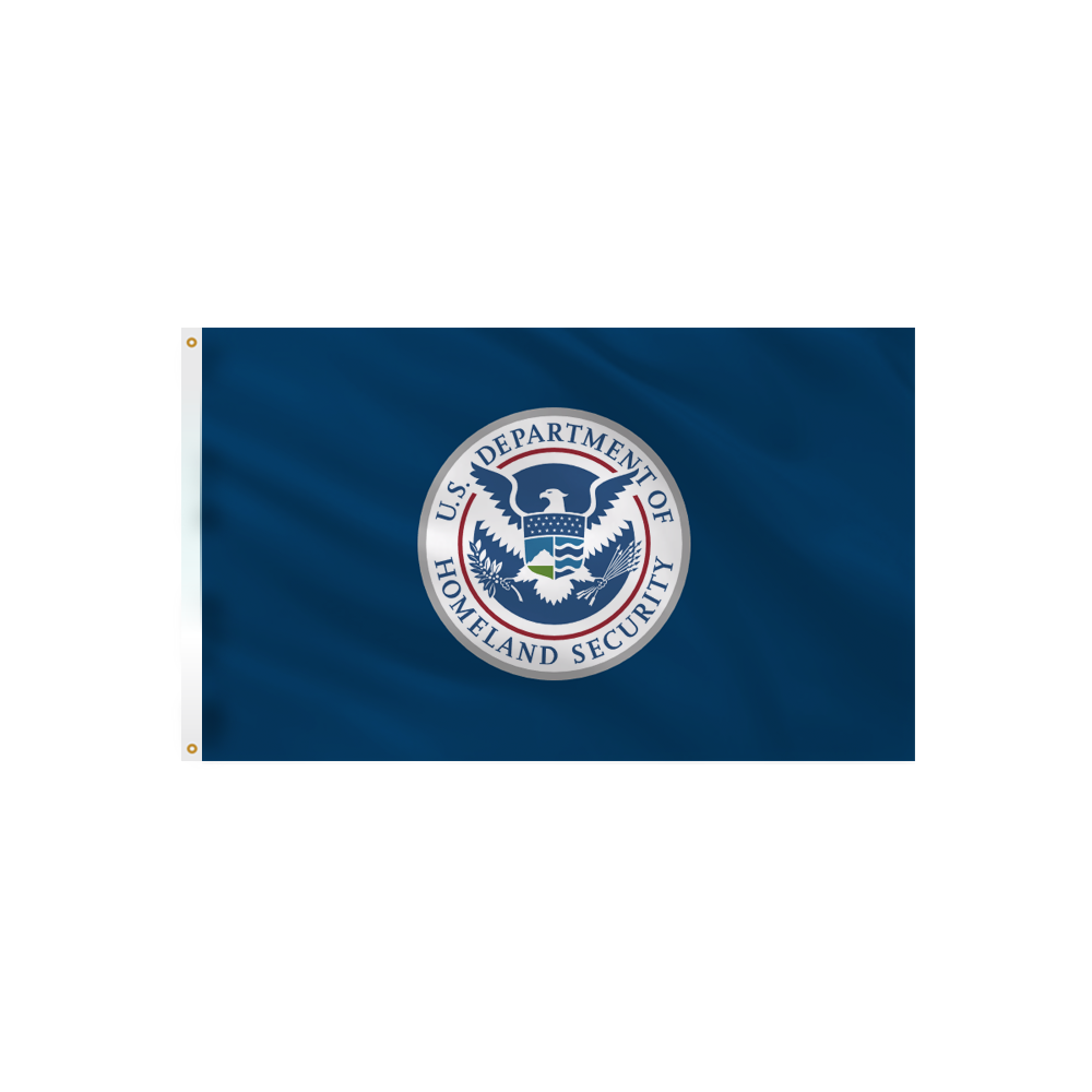 Homeland Security Flag - Outdoor