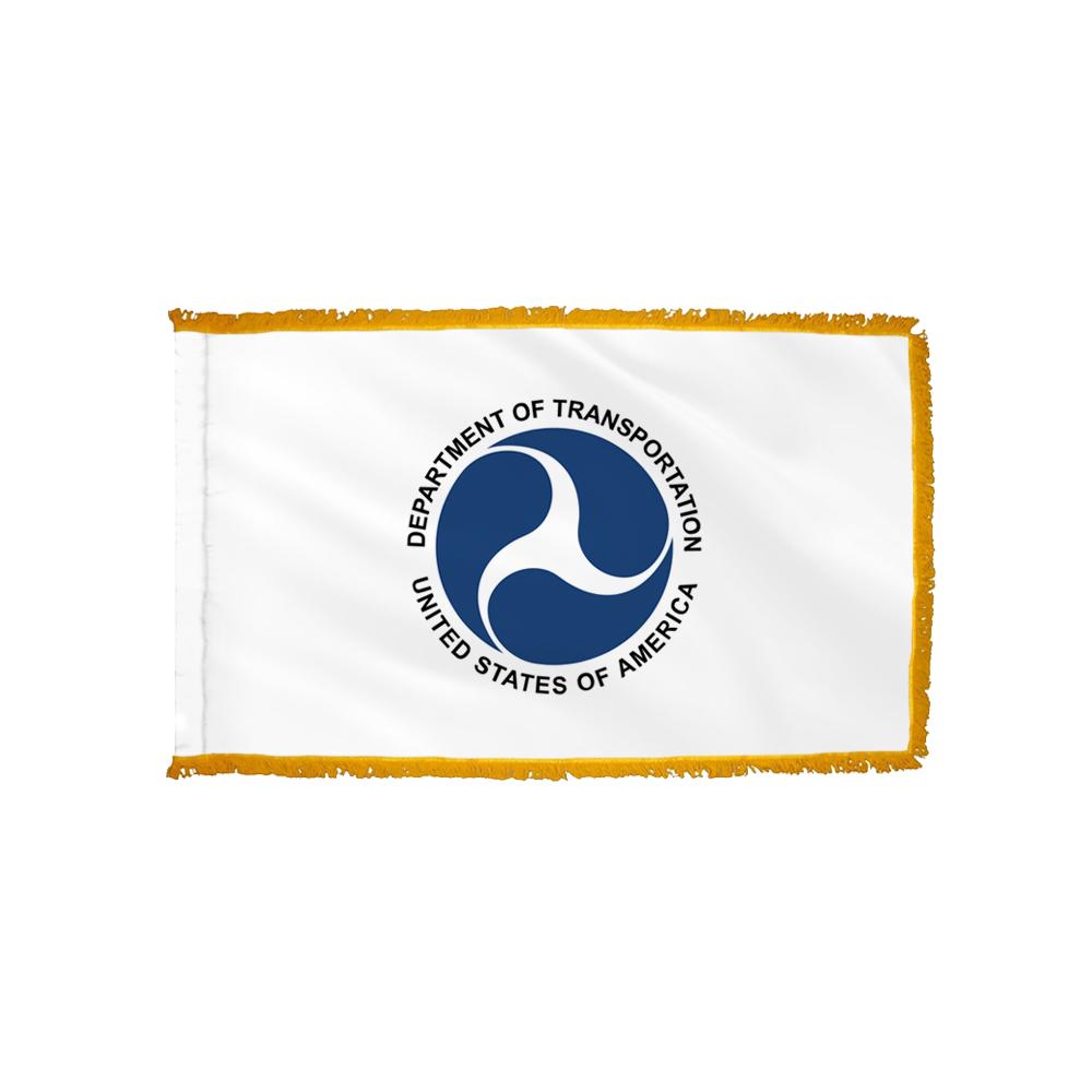 Transportation Flag - Indoor/Parade with Polesleeve & Fringe