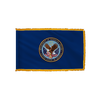 Veterans Administration Flag - Indoor/Parade with Polesleeve & Fringe