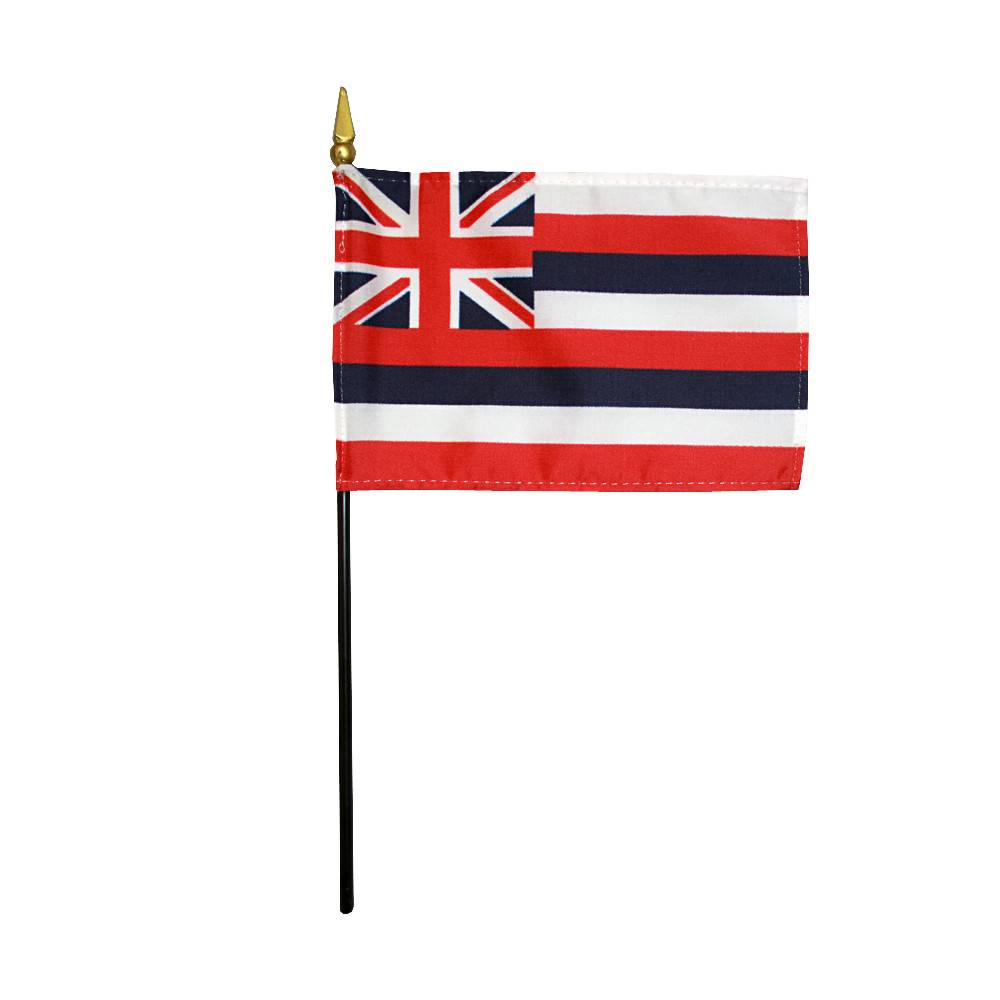 Hawaii Stick Flag