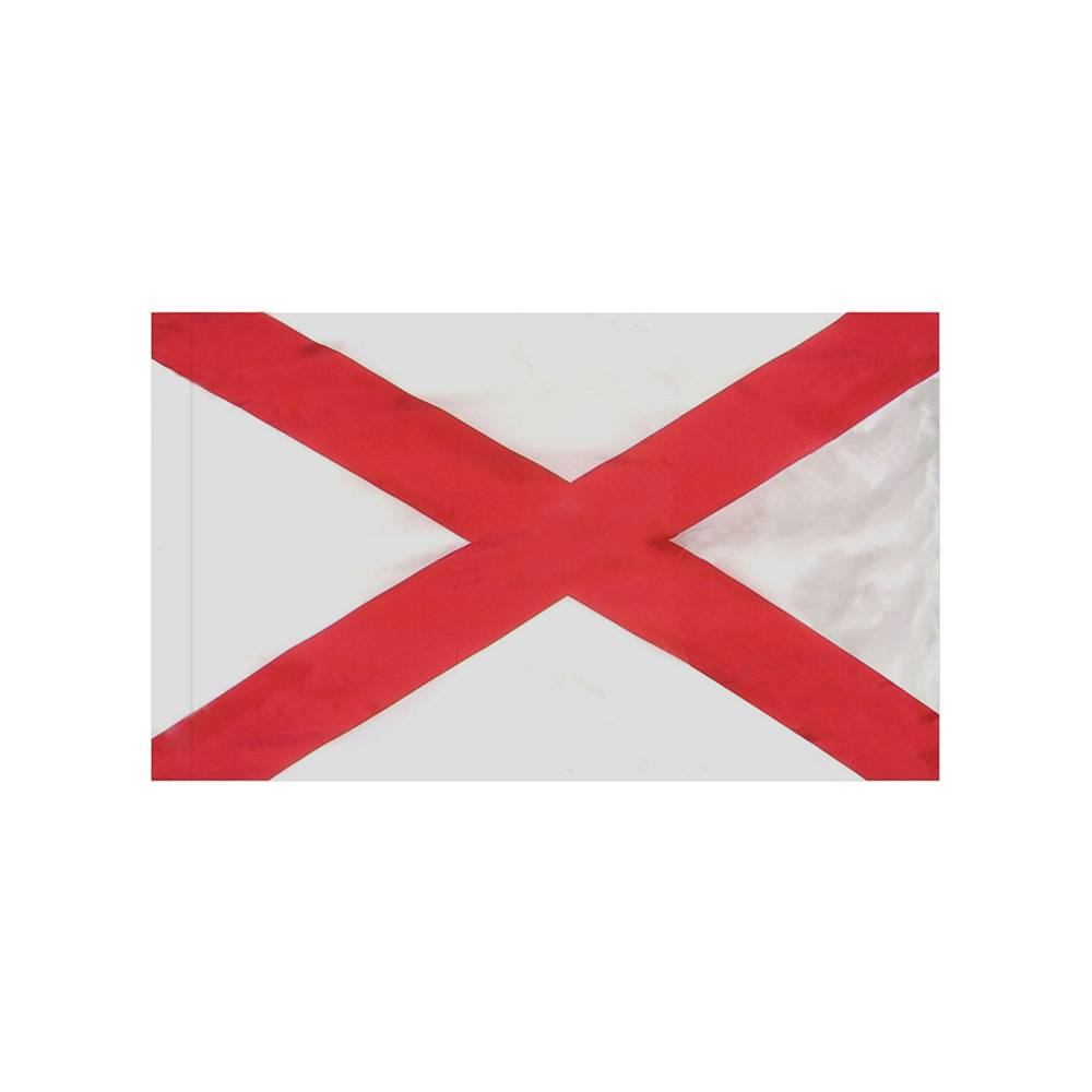 Alabama Flag with Polesleeve
