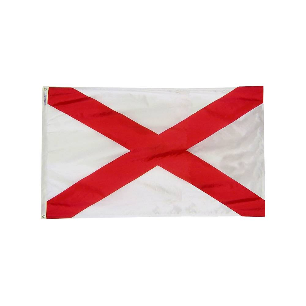 Alabama Flag - All-Weather Nylon