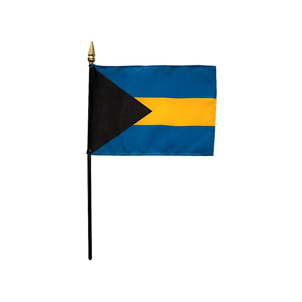 Bahamas Stick Flag 4x6 in