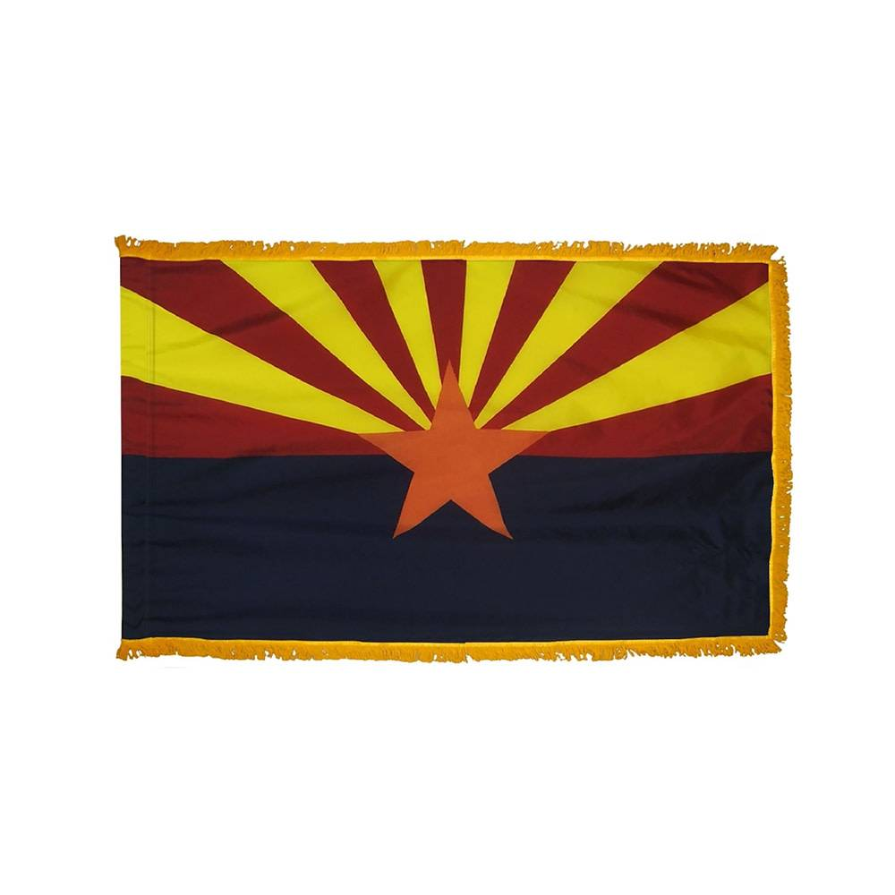Arizona Flag - Indoor & Parade with Fringe