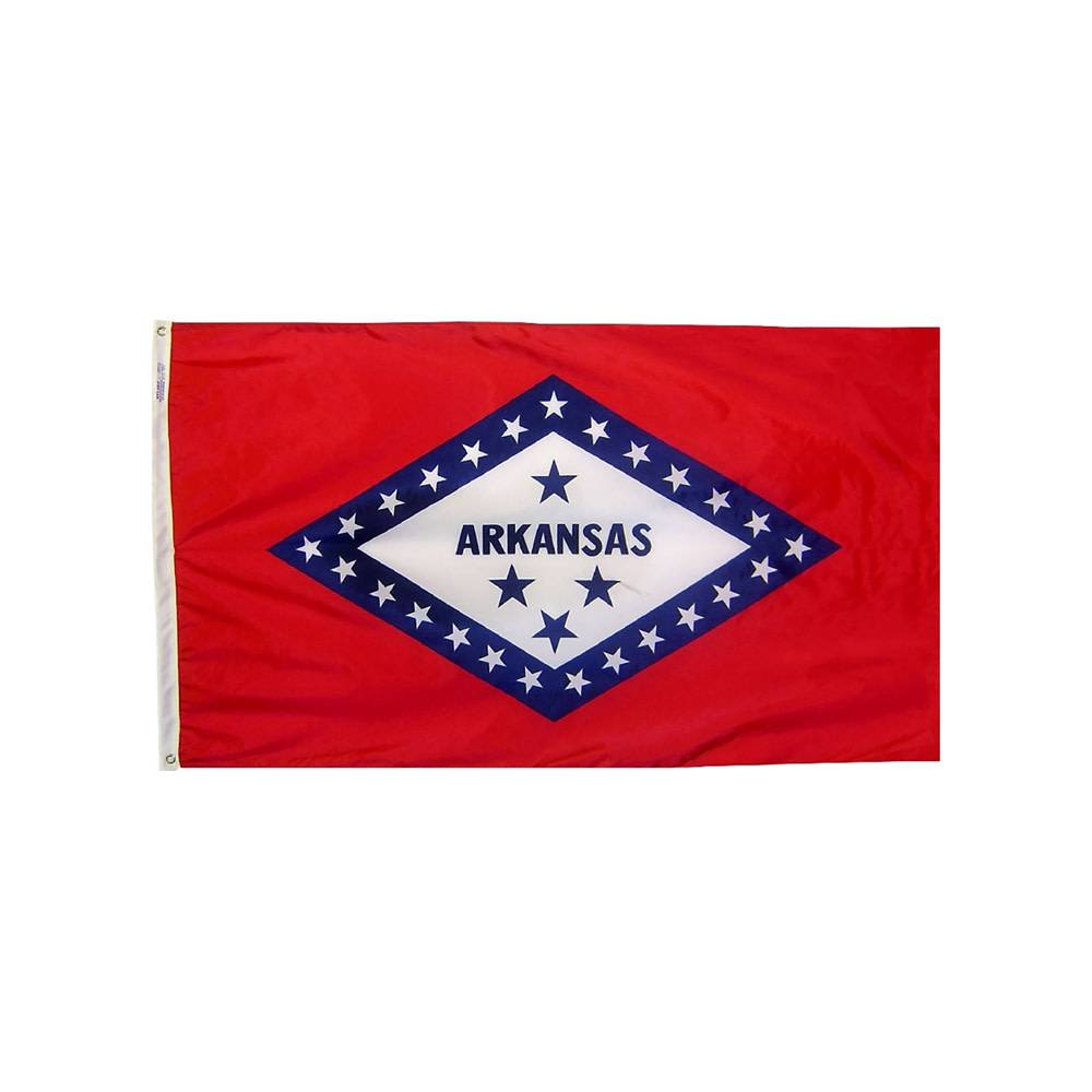Arkansas Flag - All-Weather Nylon