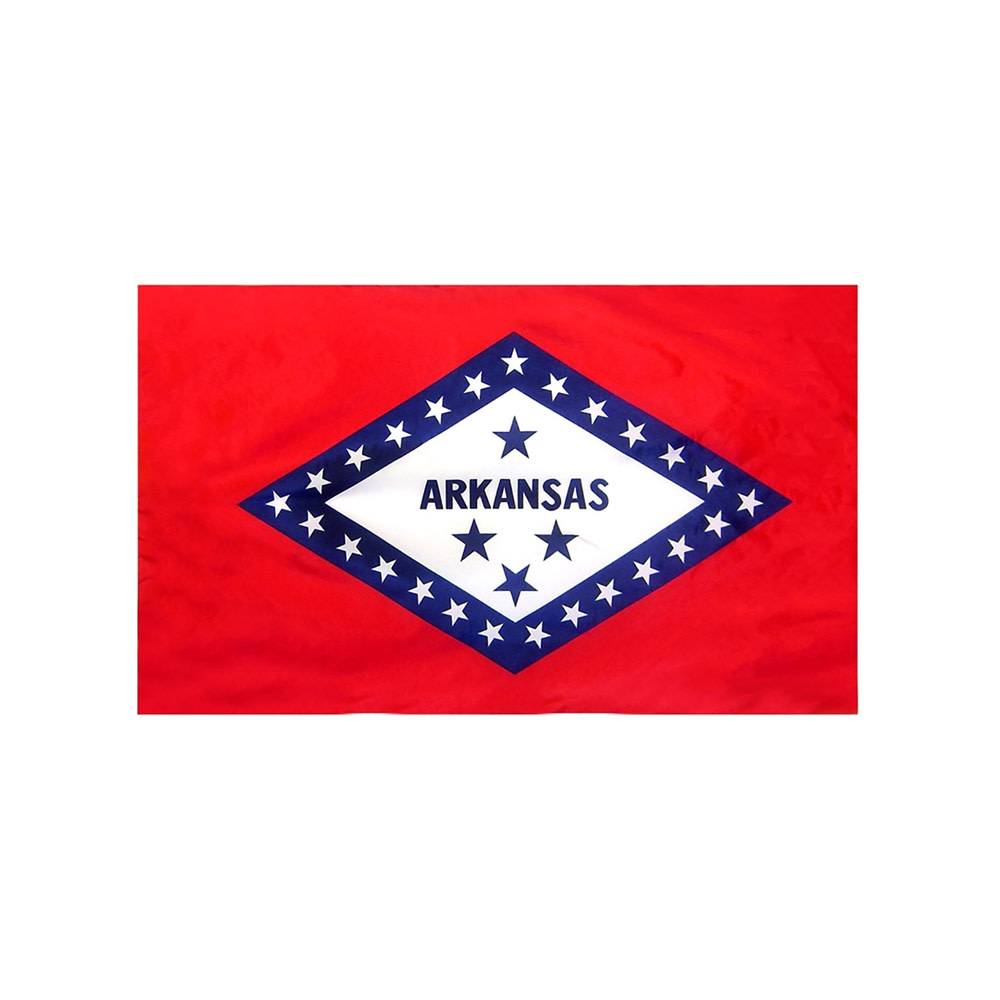 Arkansas Flag with Polesleeve