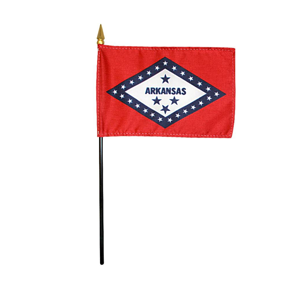 Arkansas Stick Flag