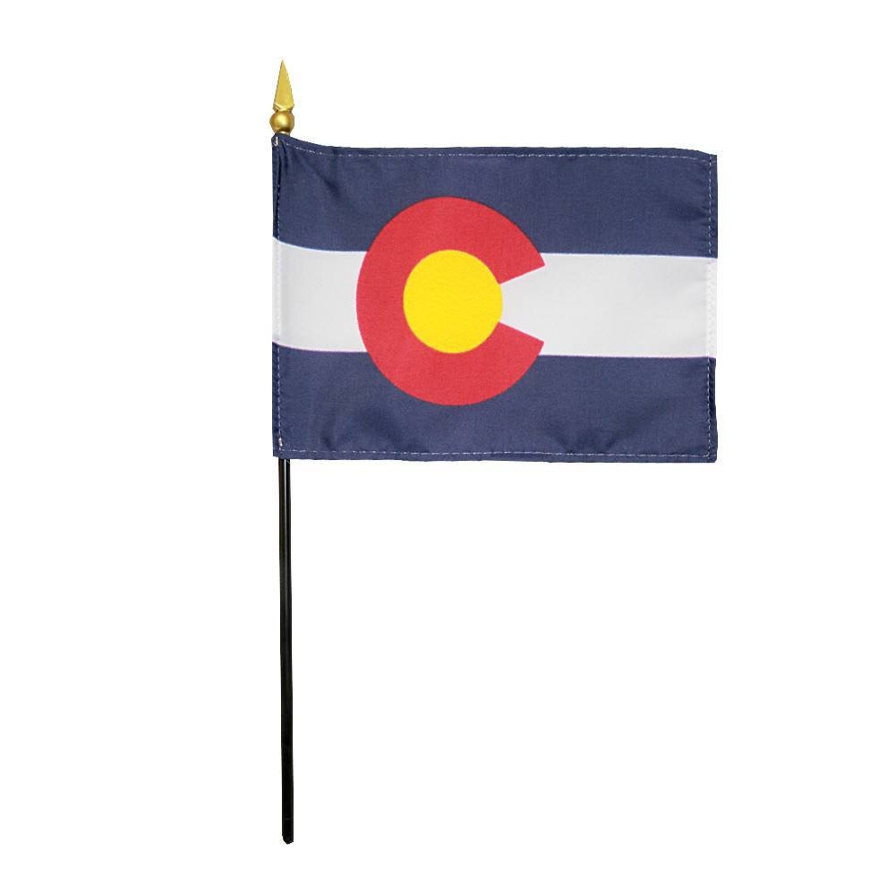 Colorado Stick Flag