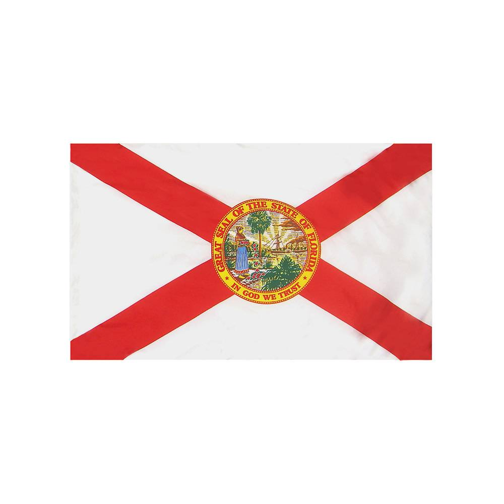 Florida Flag with Polesleeve