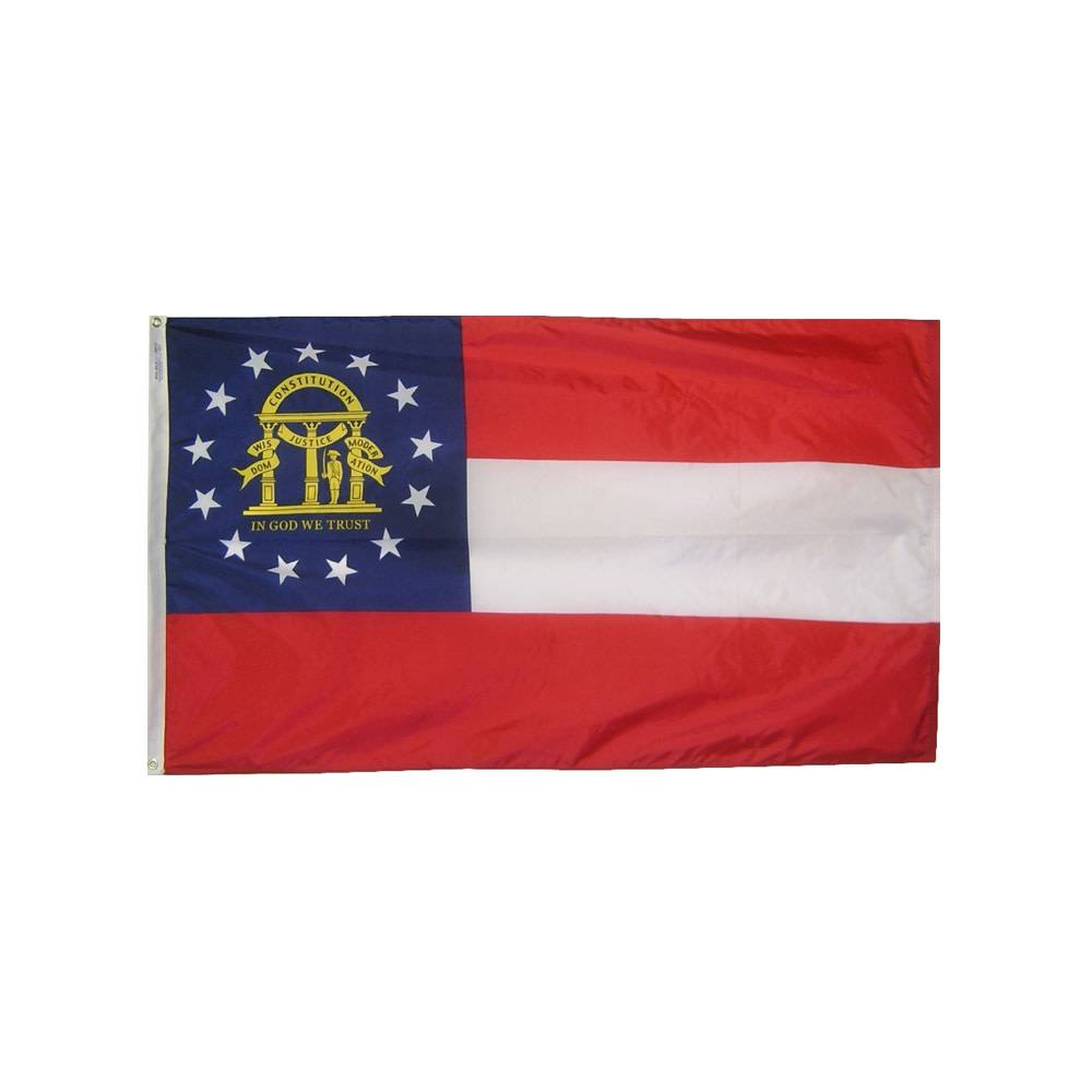 12x18 in. Georgia Nautical Flag