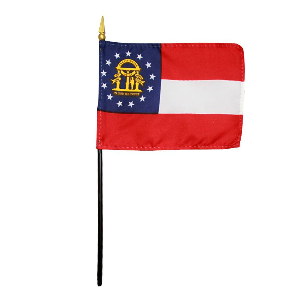Georgia Stick Flag