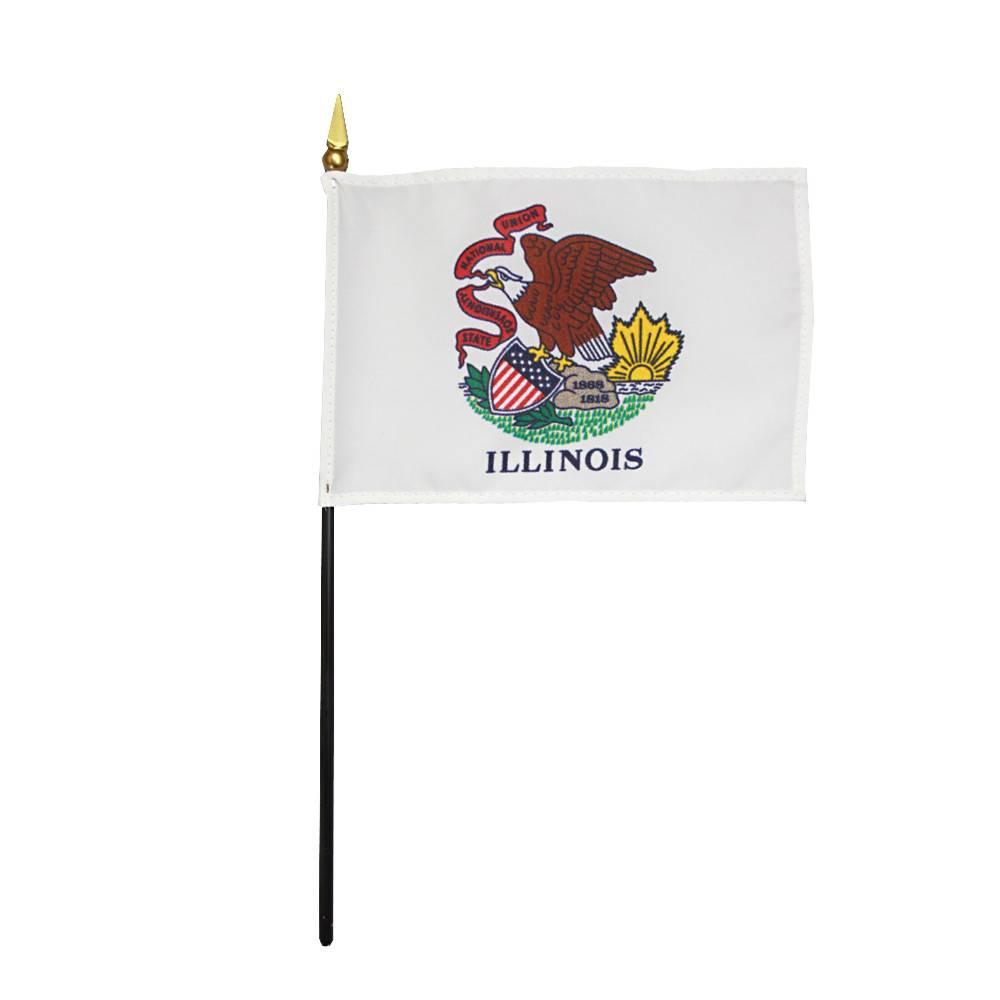 Illinois Stick Flag