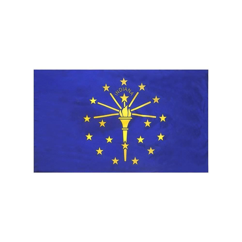 Indiana Flag with Polesleeve