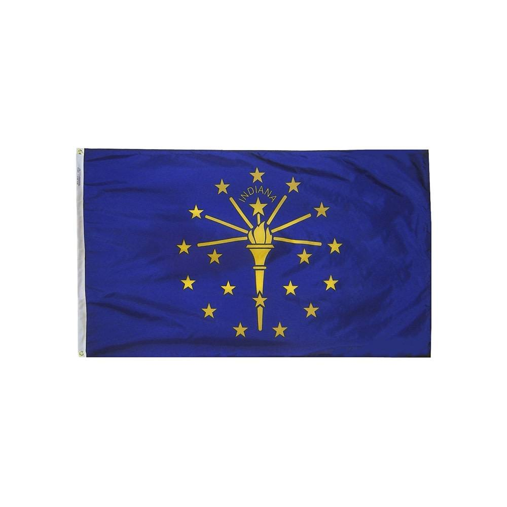 12x18 in. Indiana Nautical Flag