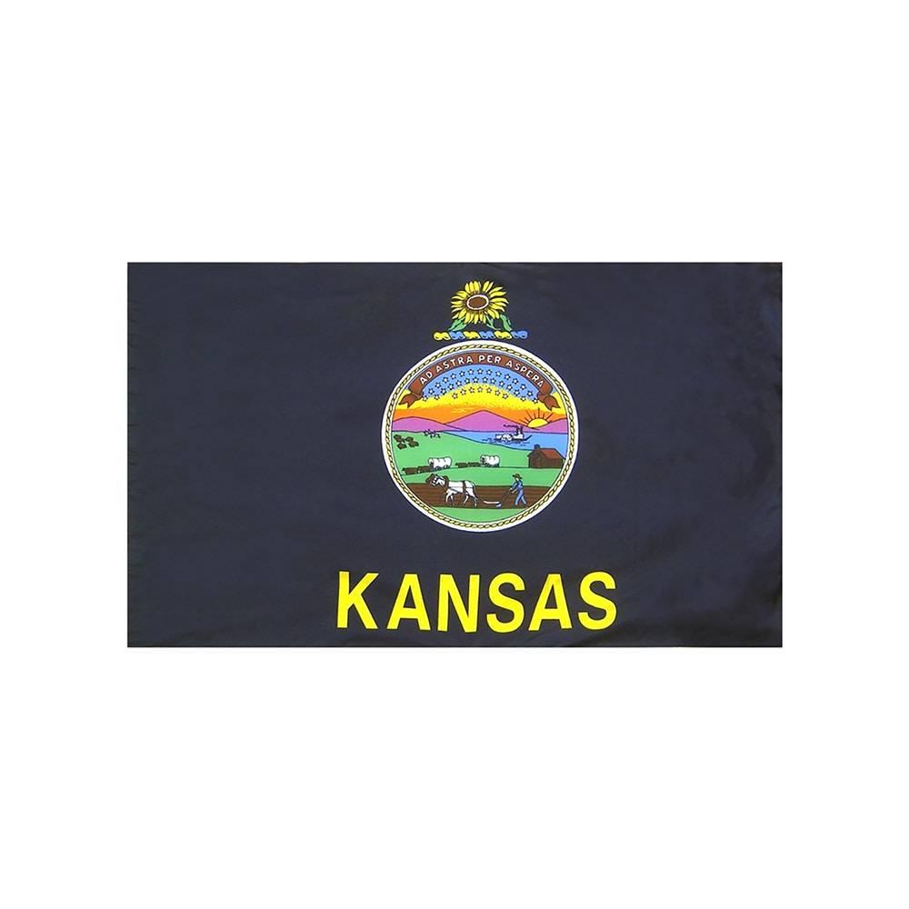 Kansas Flag with Polesleeve