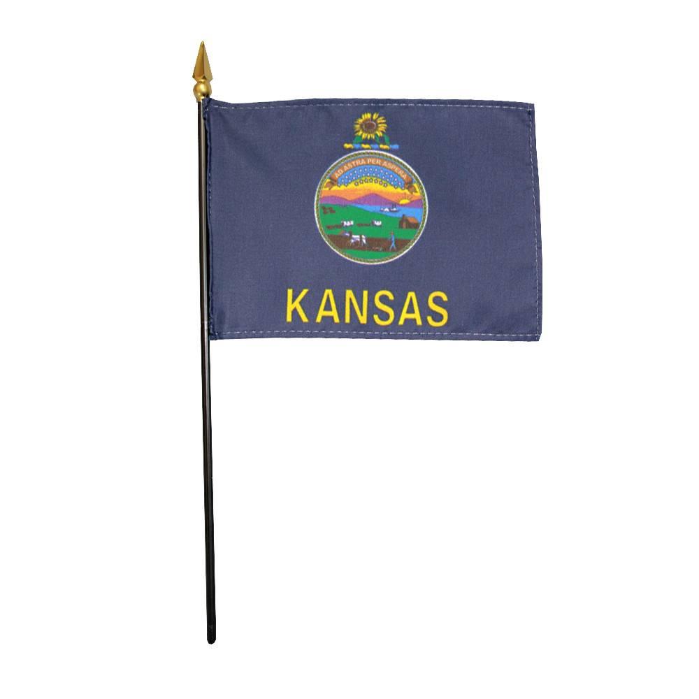 Kansas Stick Flag