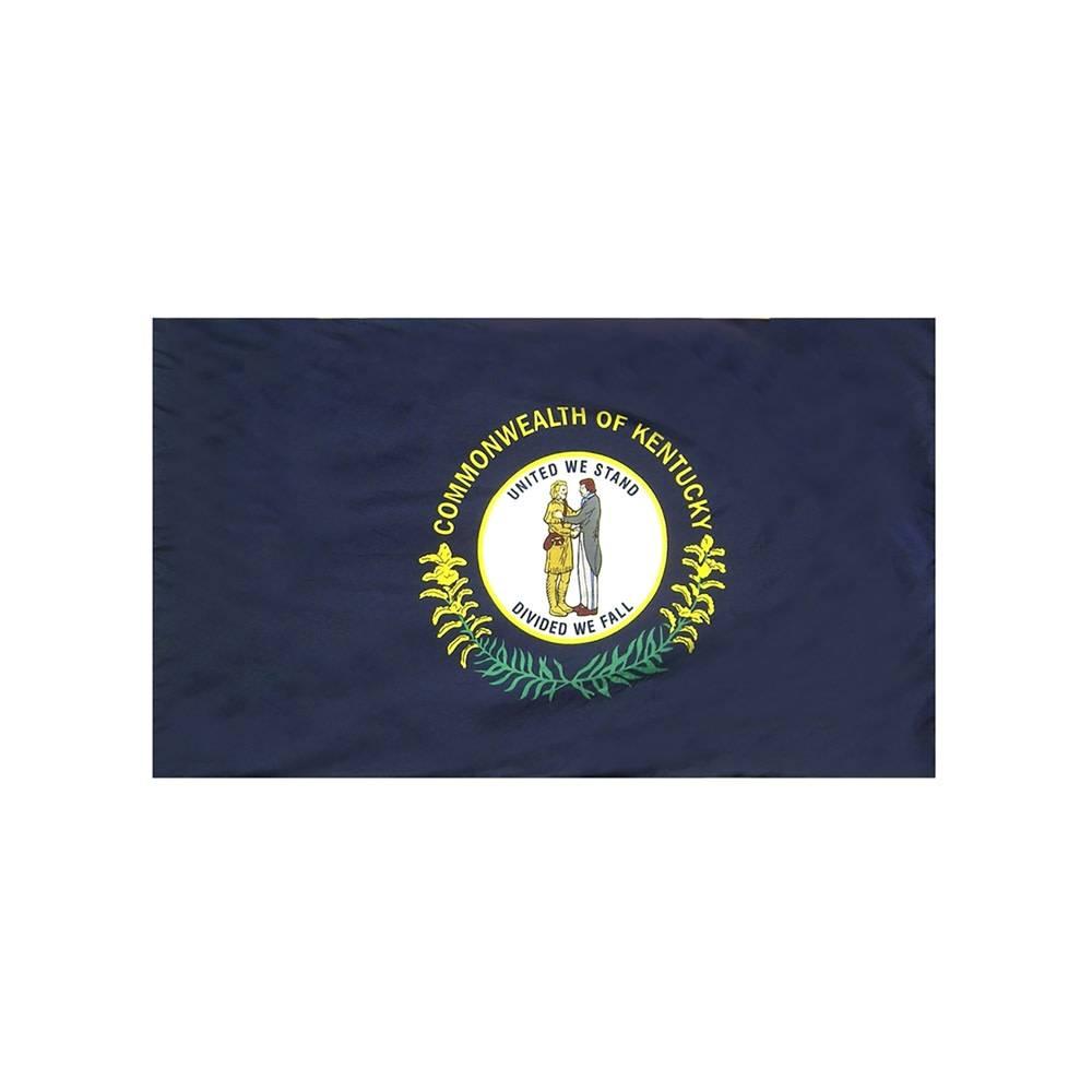 Kentucky Flag with Polesleeve