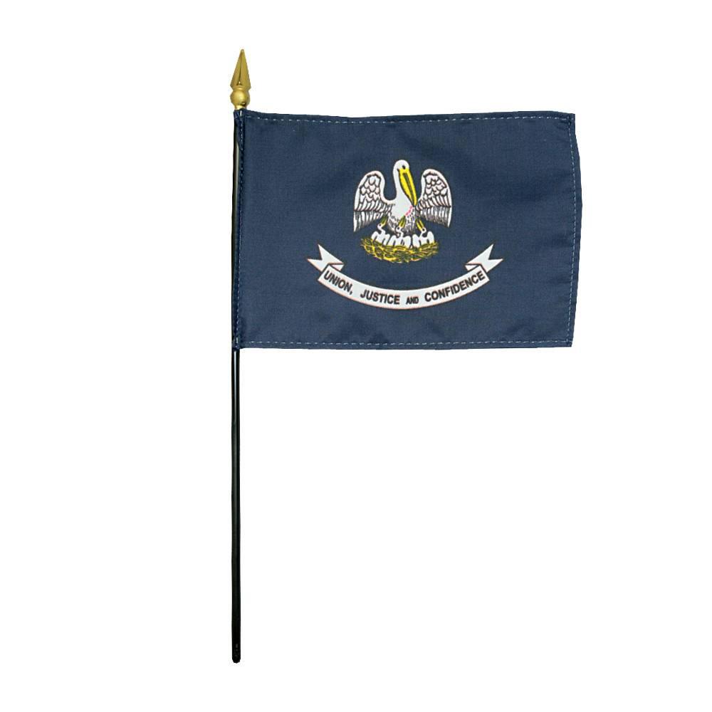 Louisiana Stick Flag
