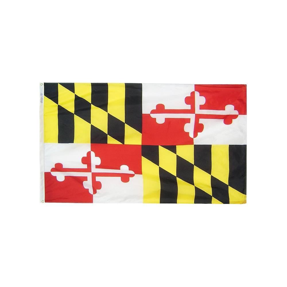 12x18 in. Maryland Nautical Flag