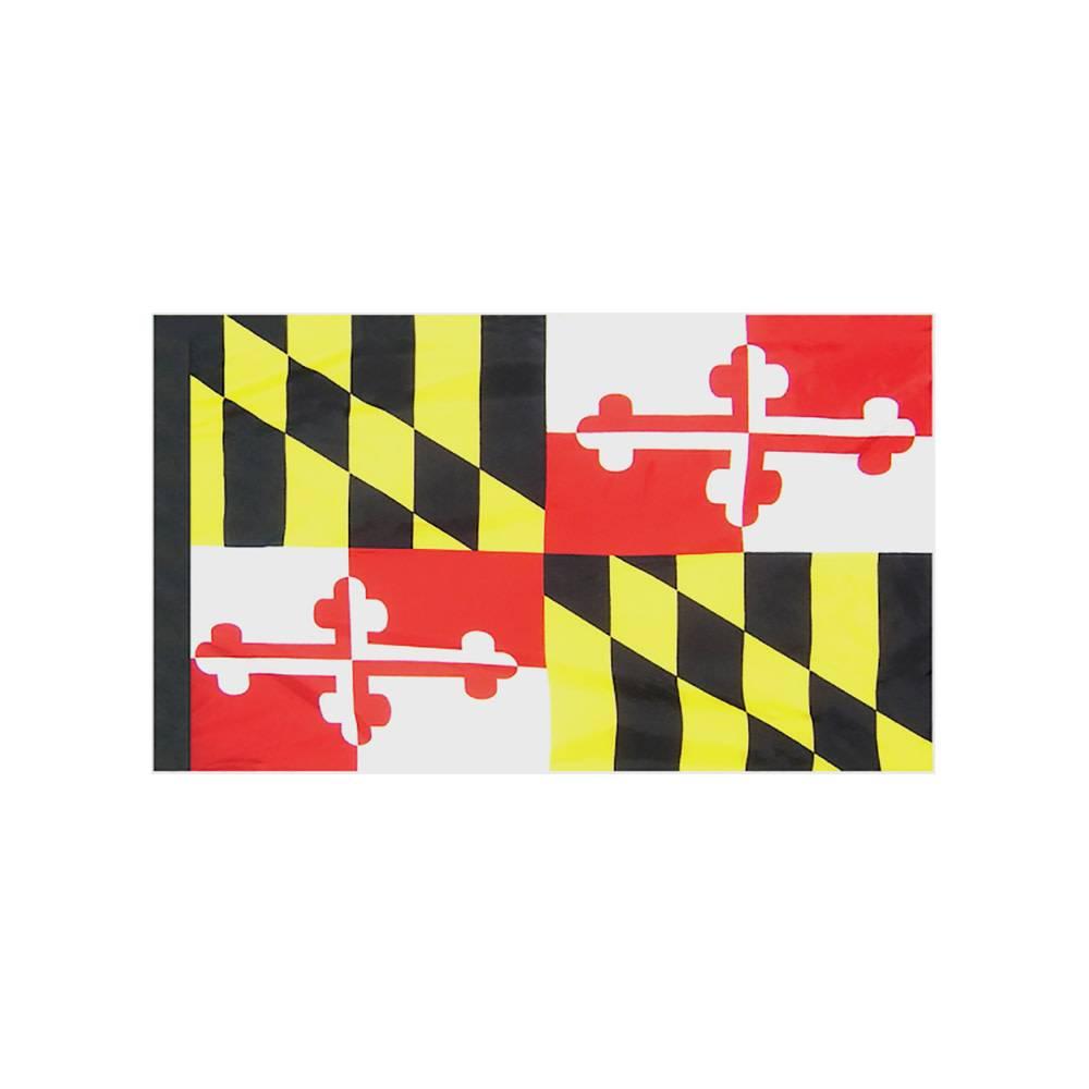 Maryland Flag with Polesleeve