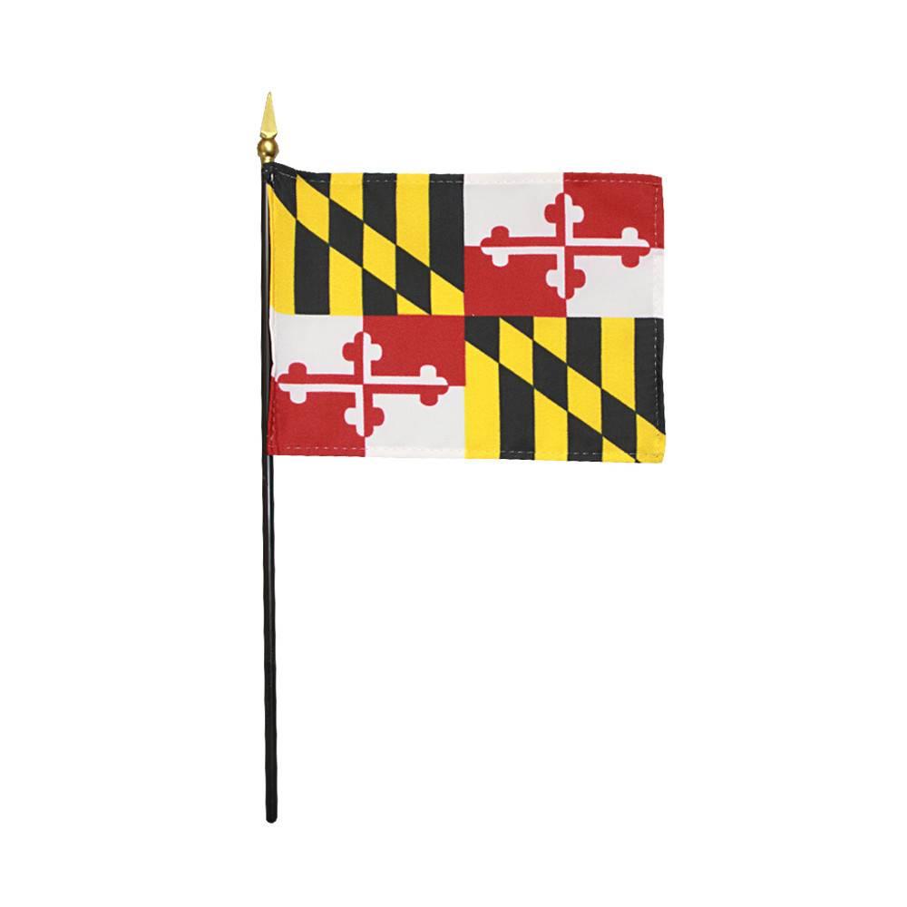 Maryland Stick Flag
