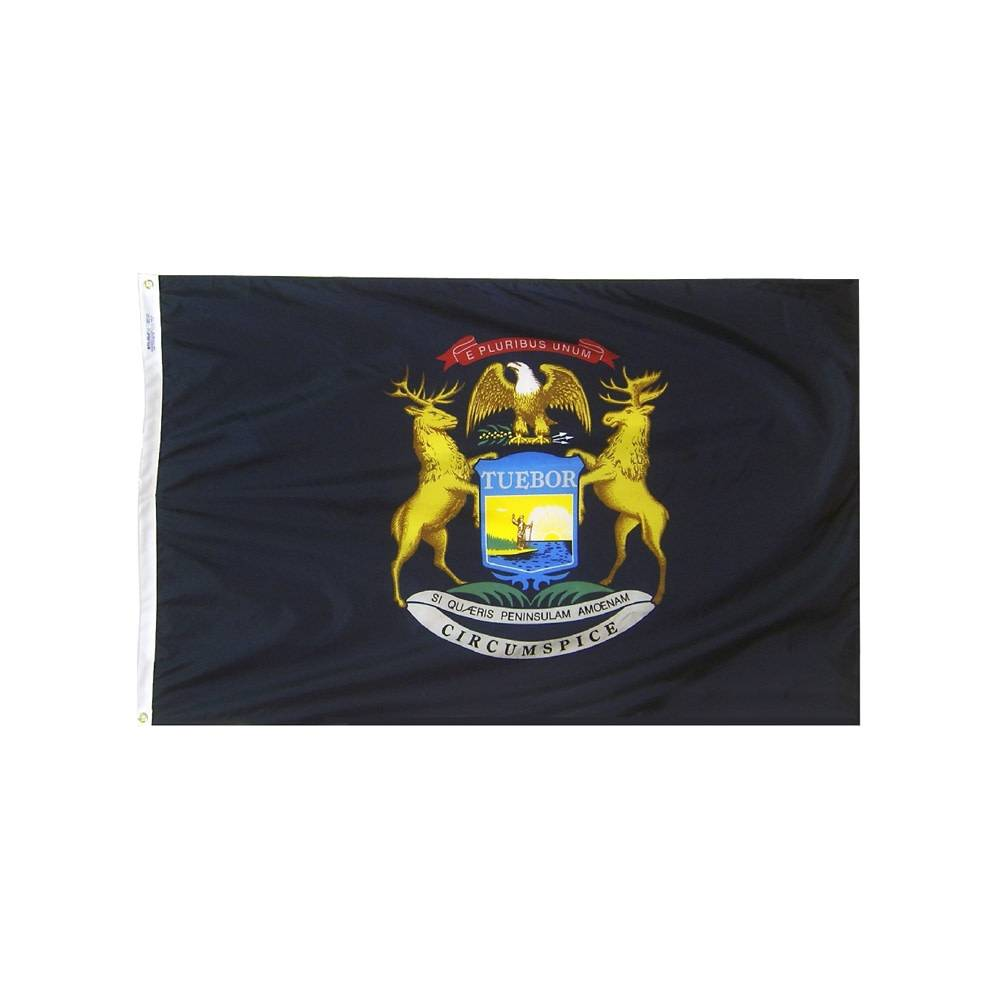 12x18 in. Michigan Nautical Flag