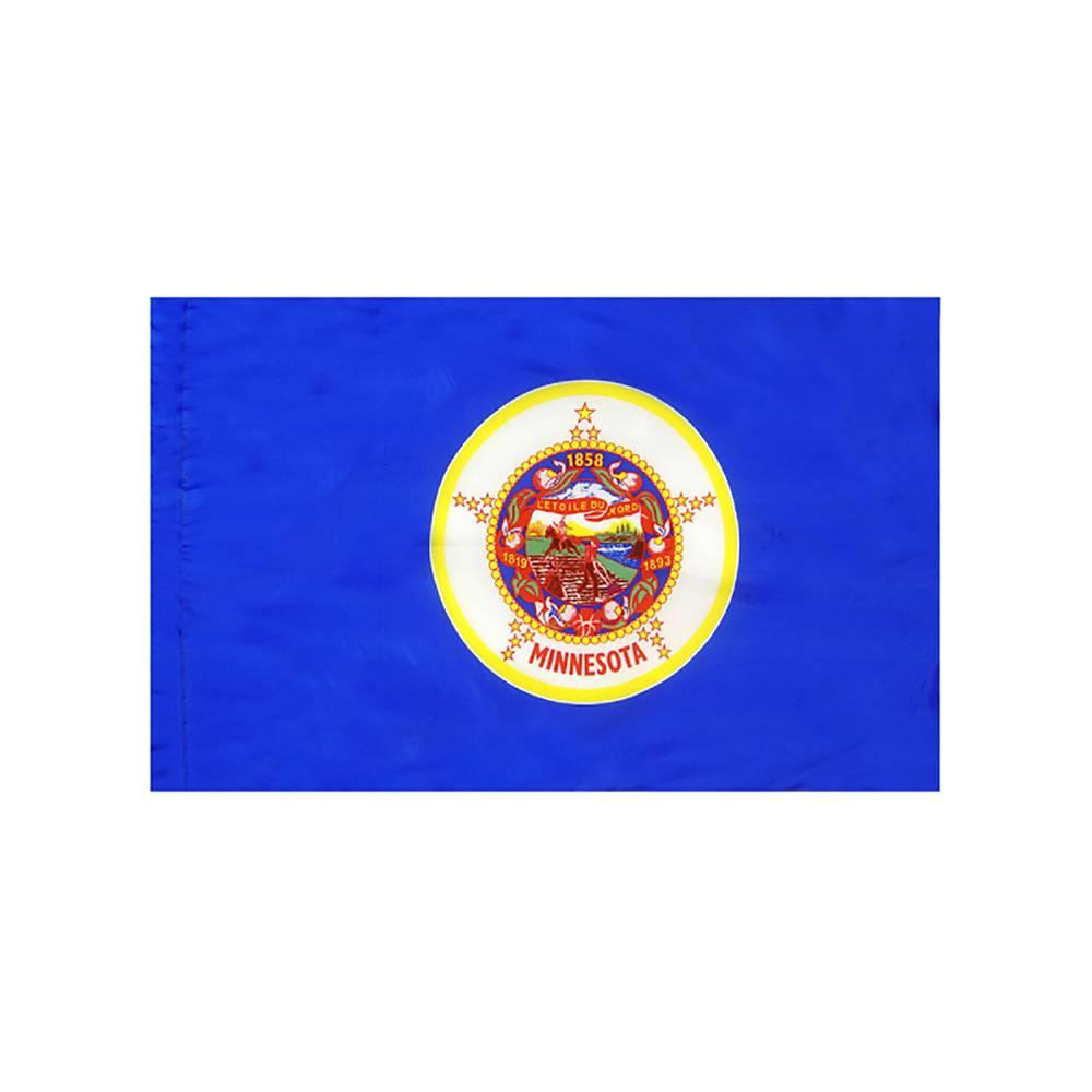 Minnesota Flag with Polesleeve