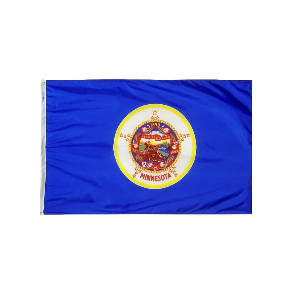 12x18 in. Minnesota Nautical Flag