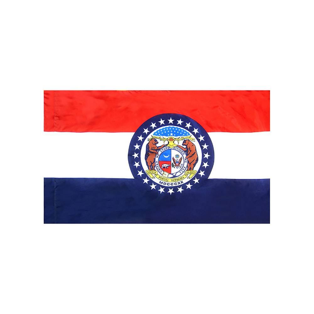Missouri Flag with Polesleeve