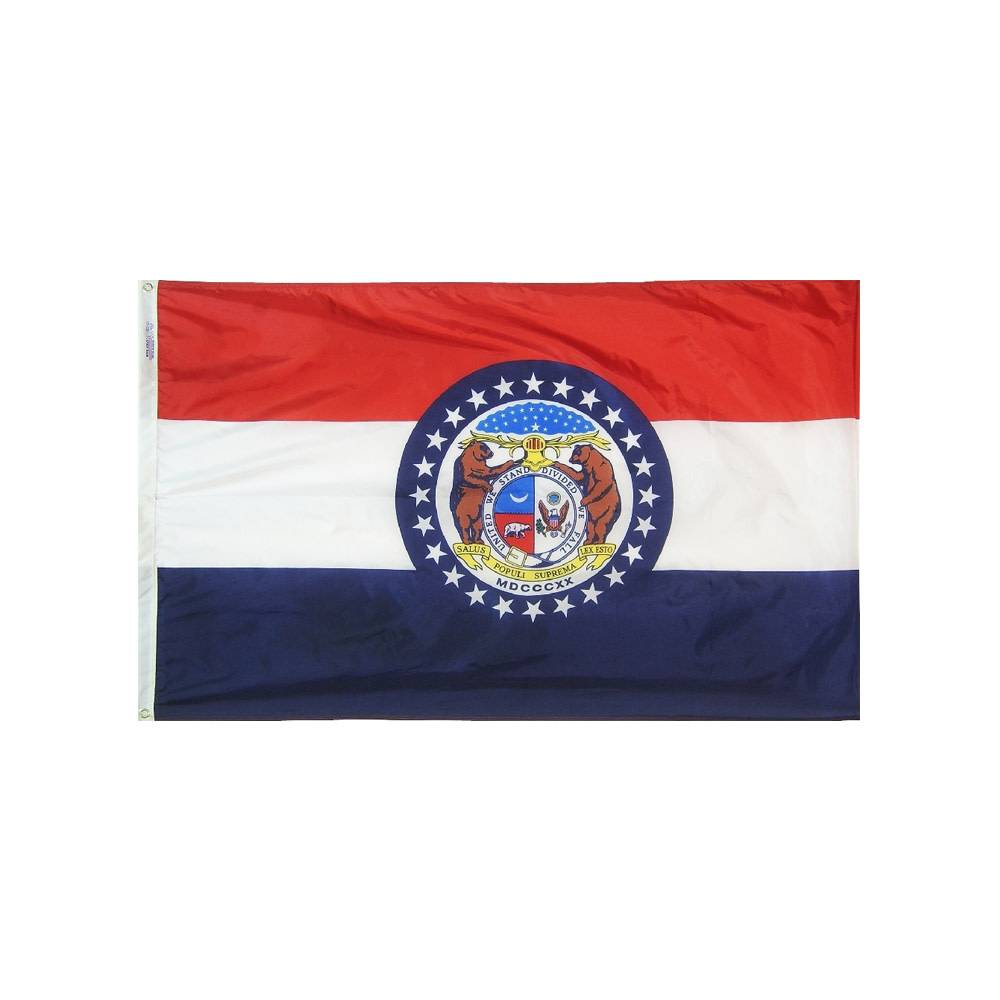 12x18 in. Missouri Nautical Flag