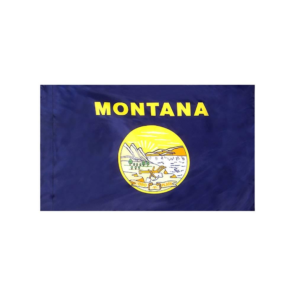 Montana Flag with Polesleeve