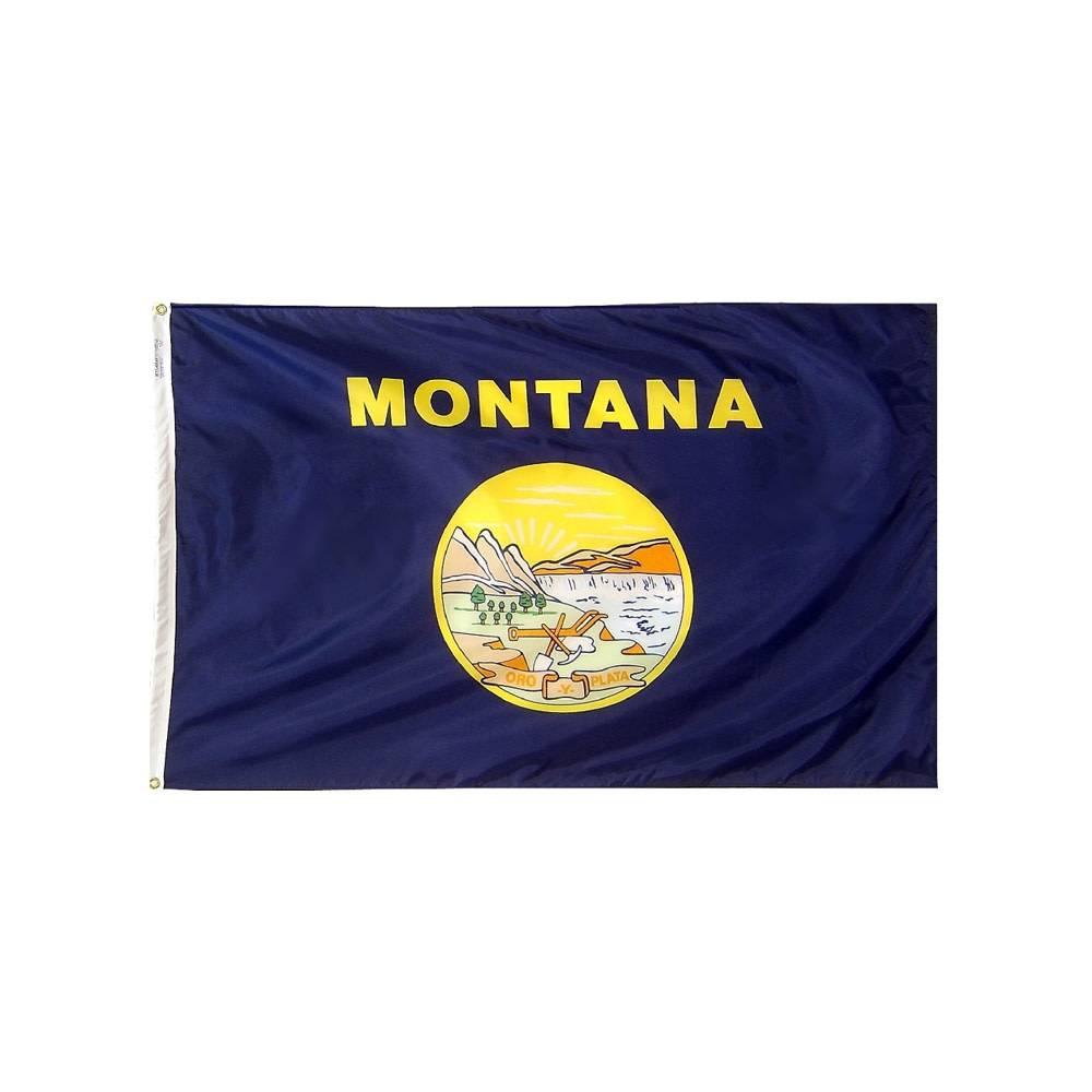 12x18 in. Montana Nautical Flag