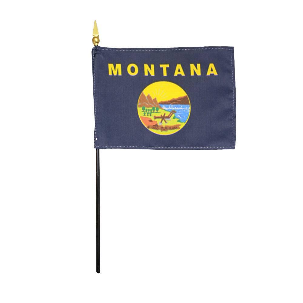 Montana Stick Flag