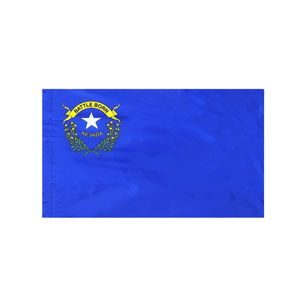 Nevada Flag with Polesleeve