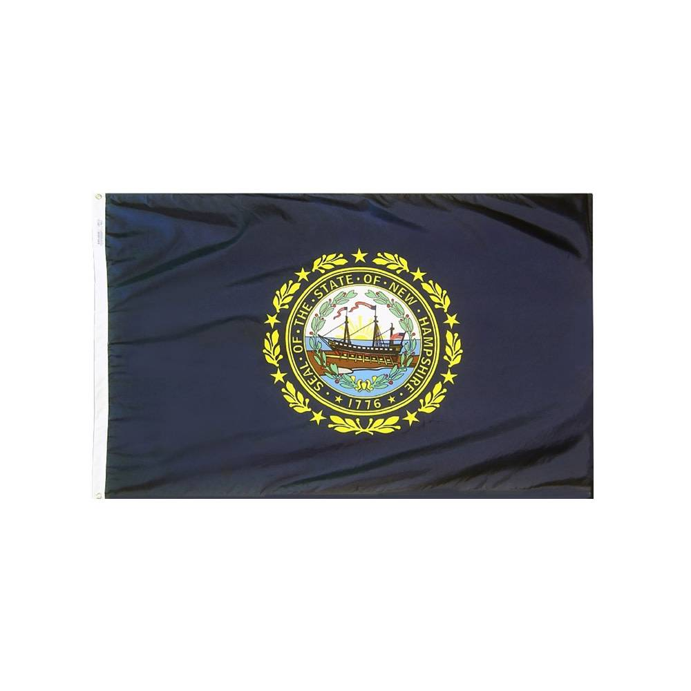 12x18 in. New Hampshire Nautical Flag