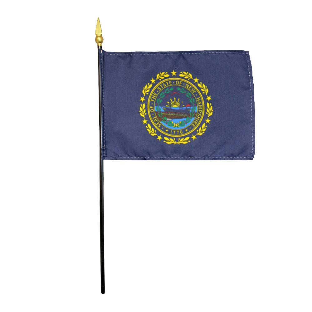 New Hampshire Stick Flag