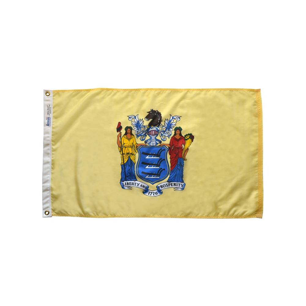 12x18 in. New Jersey Nautical Flag