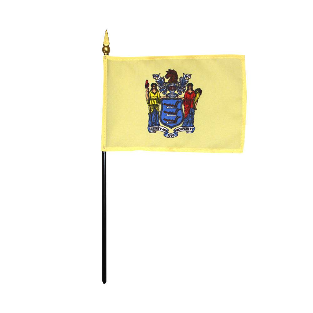 New Jersey Stick Flag