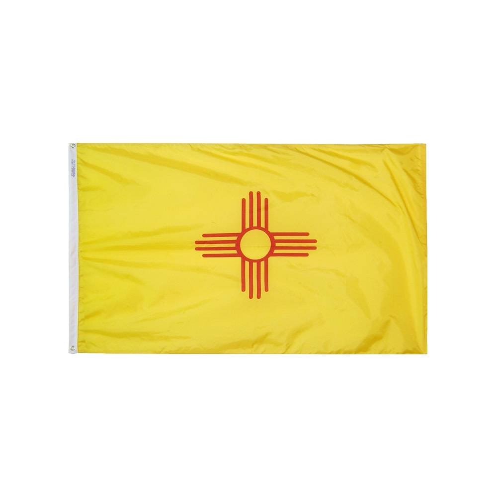 12x18 in. New Mexico Nautical Flag