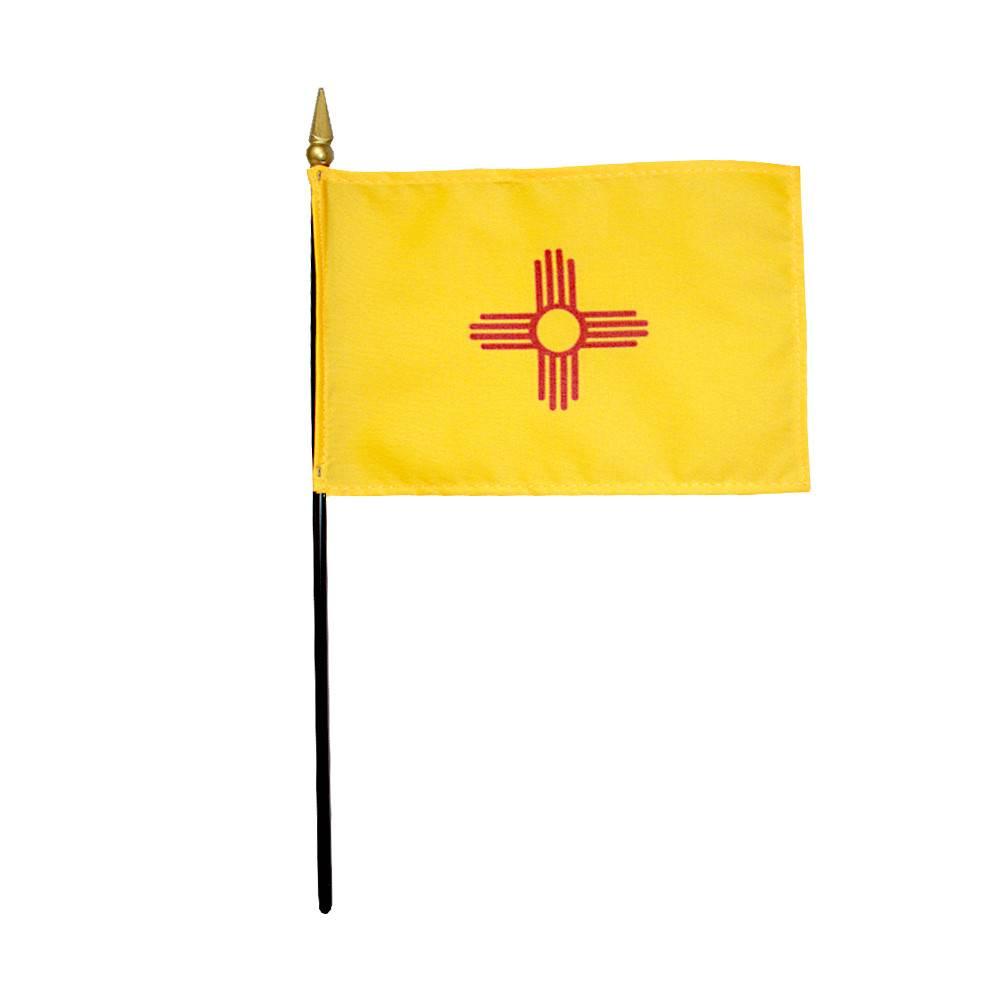 New Mexico Stick Flag